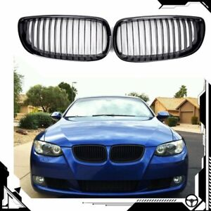 Gloss Black Front Kidney Grill Grille For Bmw E90 E92 E93 M3 328i 335i Coupe 2dr