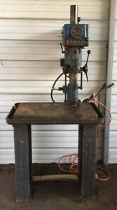 Clausing Variable Speed 15 Drill Press Model Series 16vt 1 Vintage Made In 1965