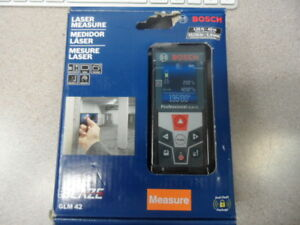 Bosch Glm 42 Blaze 135 Ft Laser Measure New Sealed