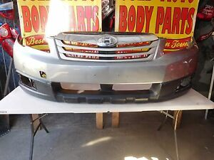 2010 2011 2012 Subaru Outback Front Bumper Cover Oem