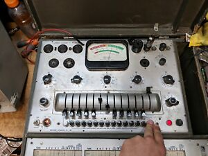 Precision 10 40 Tube Tester Working Condition