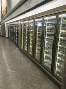 Walk In Cooler 8 Door Reach In Freezer 6 Door Complete Package