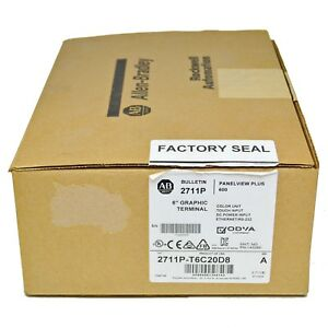 Allen Bradley 2711p t6c20d8 Seriesa Panelview Plus 600 6 Color Graphic Terminal