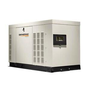 Heavy Duty 27 000 watt 120 volt 240 volt Liquid Cooled Standby Generator 3 phase
