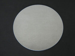 9 Dia X 1 8 Thick Aluminum Round Disc Alloy 5052 h32 Mill Finish