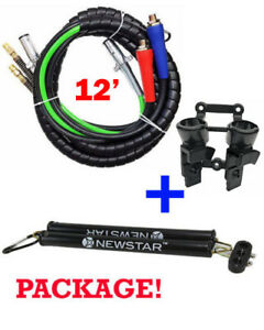 3 In One Wrap Set 7 Way Tractor Trailer Electric Cord Cable Abs