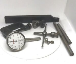 Starrett No 196a5z Universal Back Plunger Dial Indicator With Padded Case