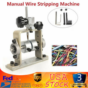 Wire Stripping Machine Portable Scrap Cable Stripper Manual Metal Recycle Tool