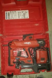 Hilti Bx3 if Actuated Fastening Tool W 2 Batteries Charger Case