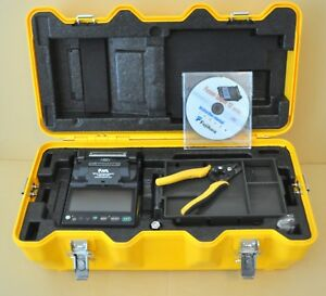 Fujikura 12s Sm Fixed V groove Fiber Fusion Splicer Ct 06 Cleaver 389 Usa Model
