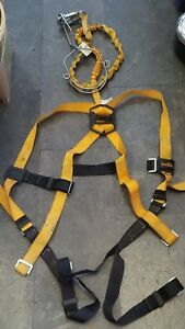 Titan By Miller T6111 6tfafu Full Body Safety Harness With Lanyard