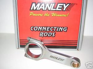 Manley Bbc Forged H beam Rods 6 385 With Arp2000 Rod Bolts 14062r 8