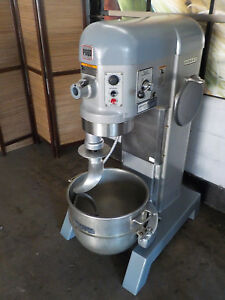 60 Qt Hobart Mixer Model P660 Two Speed 208v 3ph 2 5 Hp With Ss Bowl And Hook