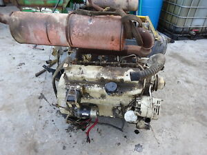 John Deere 4239 df Diesel Engine Runs Perfect 4 239 3 9 310 Backhoe Tractor