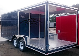 new 2019 Concession Vending Food Trailer With 8 Rear Covered Porch