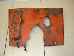 1966 Case 930 Diesel Tractor Foot Throttle Plate