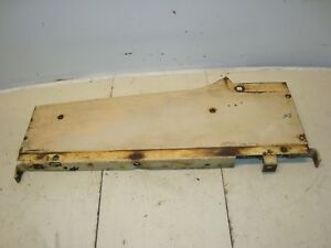 1966 Case 930 Diesel Tractor Right Hood Radiator Panel