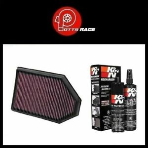 K N For Replacement Air Filter Cleaning Care Service Kit 33 2460 99 5000