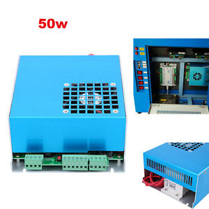 50w Power Supply For Co2 Laser Engraving Cutting Engraver Machine 110 220v