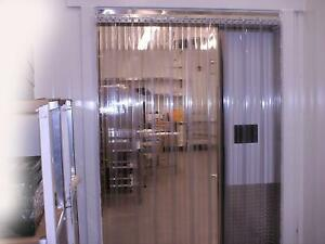 3 X 6 25 Strip Curtain Door 36 x75 Cooler Freezer 6 Nsf Walk In Vinyl Pvc Vp