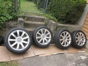 Rare Used Oem Audi Rs6 Wheels And Tires 18 X 8 5 4b3601025r Et 30