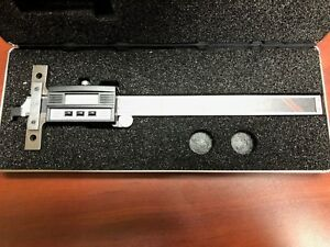 Starrett 753az 6 Electronic Depth Gage
