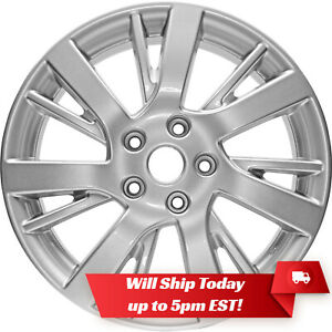 New Set Of 4 17 Replacement Alloy Wheels Rims For 2013 2019 Nissan Sentra