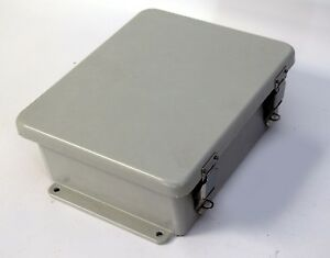 Stahlin J1008hpl Electrical Enclosure Box Hinged Lockable Outdoor 10 X 8 X 4