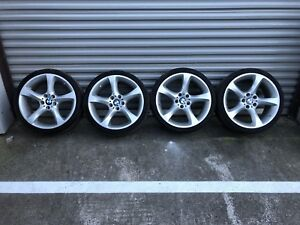 Set Of 19 Oem Wheels Rims Bmw 3 E92 328 335 Style 230 Staggered 5x120