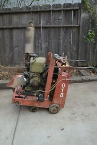 18 Walk Behind Self Propelled Concrete Cut Off Floor Saw Norton C 188