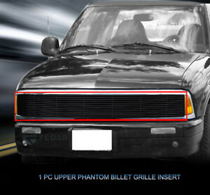 Black Billet Grille Grill For Gmc Jimmy sonoma chevy S10 1991 1992 1993