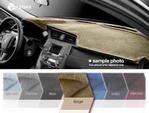 Beige Dashboard Pad Mat Dash Cover For Toyota Camry 2007 2008 2009 2010 2011