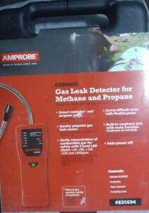 Amprobe Gsd600 Gas Leak Detector For Methane And Propane Gas