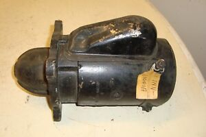 Ford 2000 3000 4000 5000 Tractor Starter D7nn11001a
