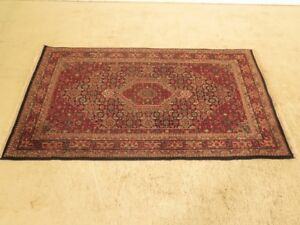 Lf28918 Vintage Approx 4 X 6 Oriental Area Throw Rug