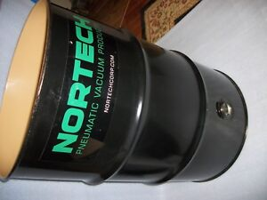 NEW NORTECH 55 GALLON PNEUMATIC VACUUM DRUM AND WHEEL KIT LOCAL PICK UP MEMPHIS