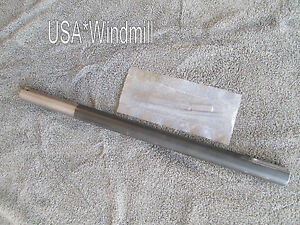 Aermotor Windmill Main Shaft For 6ft X702 Models X719 W Key Free Shipping