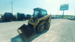 2015 Caterpillar 236 D Skid Steer Cab A c 94hrs Hyd Quick Attach Used