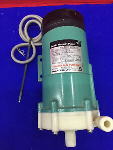 Iwaki Md 30rz 220nl01 Magnet Pump W Single Phase Induction Motor Capacitor Run