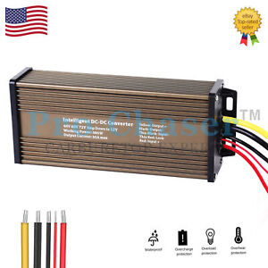 48v To 12v 30a Converter Waterproof For Golf Cart Dc Converter Reducer Regulator