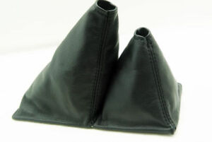 Leather Shift Boot For 84 89 Toyota Truck 4x4 5spd Black 10 5