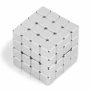 500pcs5x5x5mm Cube Cuboid Block Strong Neodymium Rare Earth Magnets Block Magnet