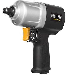 1 2 Impact Wrench Air Tools Craftsman Pro Composite Hammer Torque Garage Shop