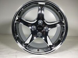 1979 93 Mustang Chrome Cobra R Wheel