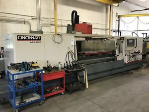 2000 Cincinnati Arrow 3000 Cnc Vmc 120 X 30 Cat40 8000rpm Acramatic 2100