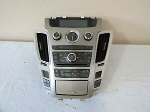 08 09 Cadillac Cts Climate Control Radio Cd Aux Player Heat Cool Seats Oem