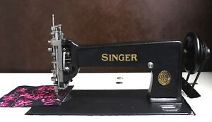 Singer 114w103 Chain And Chenille Moss Stitch Machine Restored Free Shipping