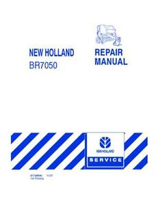 New Holland Br7050 Round Baler Service Manual