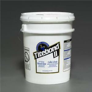 5 Gallon Titebond Ii 2 Franklin Extend Wood Glue White Woodworking Commercial