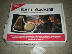 Safeawake Fire Smoke Alarm Aid Tactile Notification Vibration And Sound System